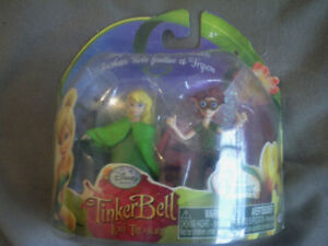Mini-figurines Clochette et Bobble, film Tinkerbell
