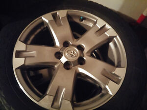 Toyota RAV4 Mags and Tire 235-55-18 Bolt pattern 5x114.3