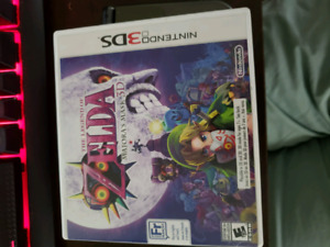 'New' Nintendo 3ds xl with majoras mask