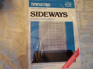 """Sideways"" for Commodore 64"