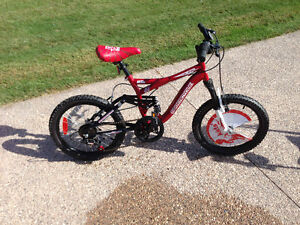 "Brand New 18"" boys bike"