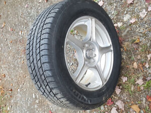 Rims and tires 225/60/16