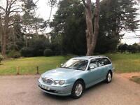 2002/52 Rover 75 Tourer 2.0 CDT Connoisseur Turbo Diesel 5 Door Estate Blue
