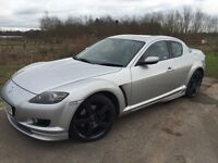 Mazda Rx8 for sale not ford Vauxhall vw bmw Peugot Toyota