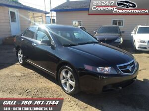2004 Acura TSX PREMIUM LOADED ONLY $6290  RELIABLE AND FUN!!!