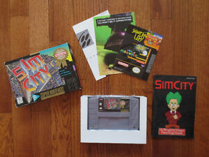 SIM CITY Game for SNES (Brand New in box w/ manual)