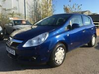 2008 Vauxhall Corsa Hatch 5Dr 1.0 12V 60 Life AC Petrol blue Manual
