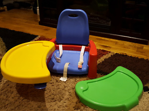 Sold PPU table booster seat with removable tray