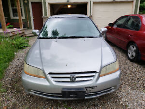 2001 Honda Accord, grey, four door standard