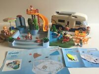 Playmobil Family Motorhome  and Pool with Slide