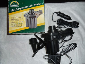 TO CLEAR - Escort Rechargeable Air Pump