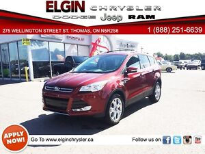 2016 Ford Escape Titanium***Pano,Navi,B-up Cam, Leather, 3k Only