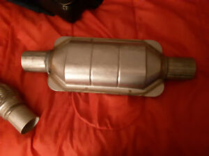 Brand new catalytic converter and flex pipe