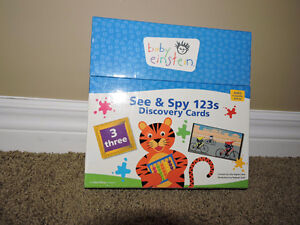 Baby einstein See & Spy 123 Discovery cards London Ontario image 2