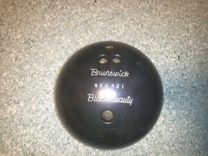 Bowling ball black beauty brunswick