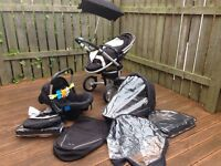 Silver Cross Surf travel system plus extras.