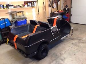 Harley Davidson/Columbia 3 wheeled  golf cart for sale.