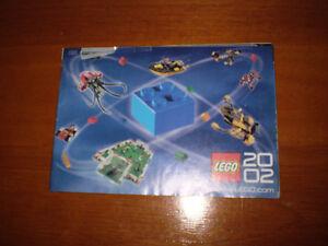 Lego Catalog 2002.