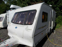 Bailey Senator Vermont 2004 2 Berth End Washroom Caravan - Please Read Info