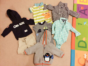 6-12 boy clothes ,brand Gymboree and gap