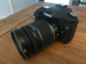 Canon EOS 50D camera/lens kit