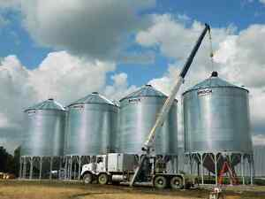 Hopper Cone, Grain Bin Sales and Set Up