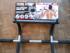 Lightly Used Workout Bar
