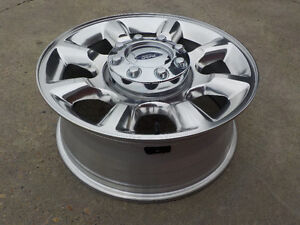 "4 - Ford F250/F350 Super Duty Alum. 20"" x 8 bolt rims , no tires"