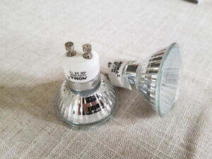 Lightbulbs pot lights track lights GU10