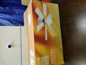 Ceiling fans - new in box