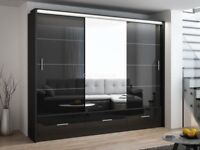 FULL LENTH MIRRORED SUPREME QUALITY WARDROBES IN DIFFERENT WIDTHS IN A VERY CHEAP PRICE
