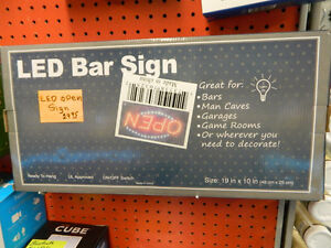 LED OPEN Sign - $29.95