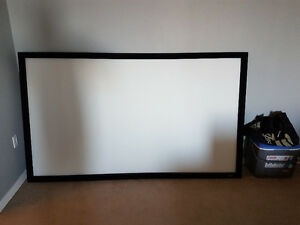 "Carada 92"" Fixed frame professional projector filmscreen"
