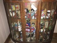 Glass shelfs cabinet
