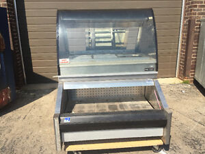food warmer  display and open cooler combination