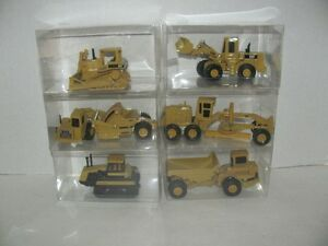 VINTAGE CAT CONSTRUCTION MACHINERY 1:64 SCALE