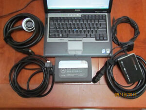 Mercedes -Benz  STAR C4 Diagnosis-Multiplexer with DELL laptop
