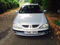 2001 Renault Megane 1.4 12 months mot