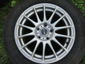 MICHELIN X-ICE TIRES AND ALLOY RIMS 205/65/16