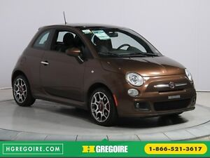 2012 Fiat 500 Sport A/C TOIT MAGS  BLUETOOTH
