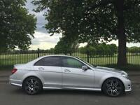 2013 63 MERCEDES-BENZ C CLASS 2.1 C220 CDI BLUEEFFICIENCY AMG SPORT PLUS 4D AUTO