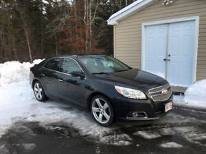 2013 Chevy Malibu LTZ. Fully Loaded. 177,000 KMs, $8,850