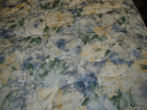 Queen / Double Comforter and 2 pillow shams London Ontario image 1