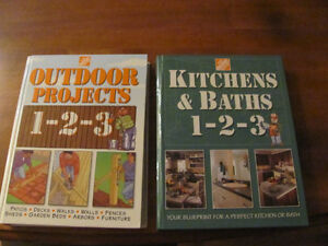 TWO HOME DEPOT RENO BOOKS ( NEW )