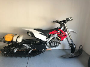 2011 CRF 450 Timbersled