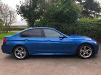 2015 15 BMW 320d xDrive M Sport 4x4 Saloon Diesel SAT NAV Estoril Blue Manual