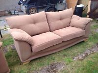 3 seater & 2 chairs / sofas /good condition / can deliver