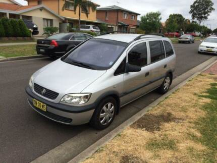 2003 Holden Zafira 7 Seater  4 cylinder  low km A1 condition Mount Druitt Blacktown Area Preview