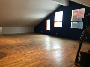 Invermere Commercial Studio Space available for rent.