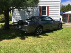 Mustang convertible premium v6 2013